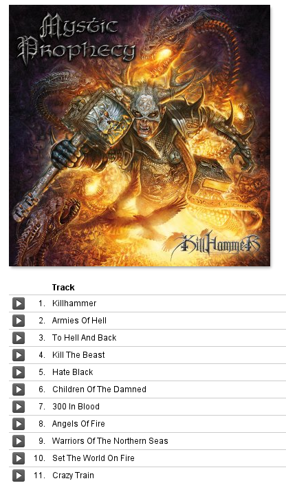 Killhammer   Massacre Records MP3 Download Store